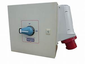 Three Phase Emergency Changeover Switch