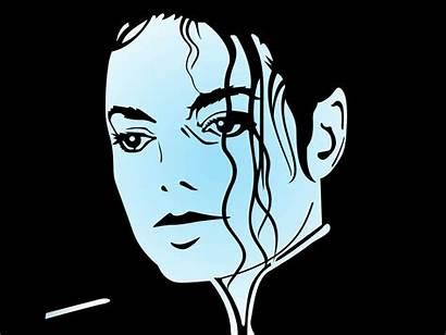 Vector Jackson Michael Silhouette Face Famous Portrait