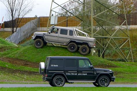 They've long been sold out after a run of 100 production vehicles, but one has surfaced for sale. Mercedes Benz G63 Amg 6x6 ~ Corbin Thorne
