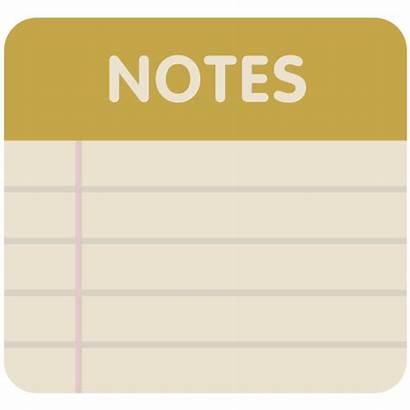 Icon Notes Icons Flat Ico Retro Note