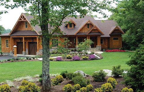 Home Plans by Stunning Mountain Ranch Home Plan 15793ge