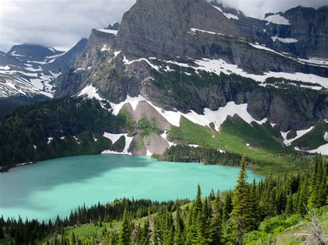 lake montana water grinnell mt bluest places onlyinyourstate glacier