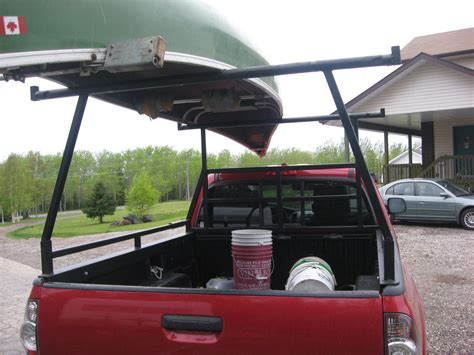 homemade pickup truck homemade pickup canoe rack truck stuff pinterest