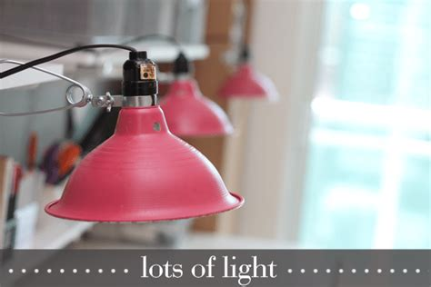 Craft Room Lighting On Pinterest  Craft Rooms, Long Desk