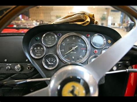 Ferrari 250 GTO interior - YouTube