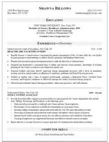 healthcare manager resume objective health care management trainee resume sle