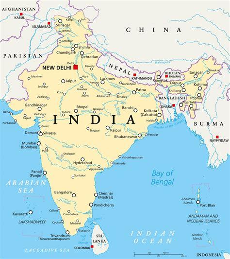 Indien Carte Du Monde by Carte De L Inde Plusieurs Cartes De L Immense Pays D