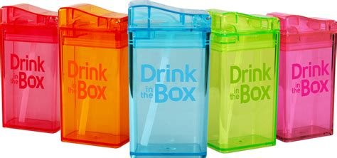 Serve Kids Healthy Drinks With Spill-proof Drink In The