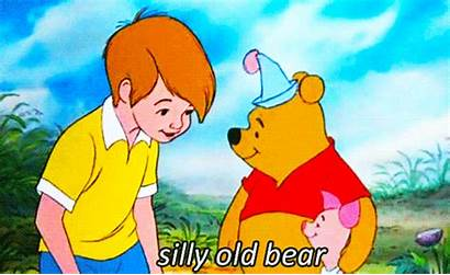 Pooh Winnie Robin Christopher Disney Bear Silly