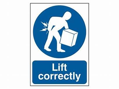 Mandatory Correctly Lift Safety
