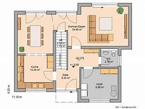 Moderne Häuser Mit Grundriss : h user haus pinterest kern haus erdgeschoss und grundrisse ~ Bigdaddyawards.com Haus und Dekorationen