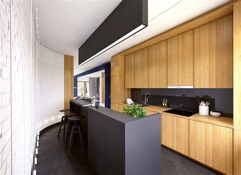 cuisine noir mat black white wood kitchens ideas inspiration