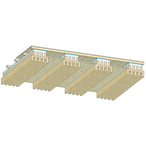 dalle de plancher 224 poutrelles bois bois ou bois b 233 ton c