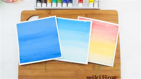 how to wash colors how to paint a watercolor wash 15 steps with pictures
