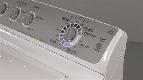 replacing  start button   ge washer appliance video