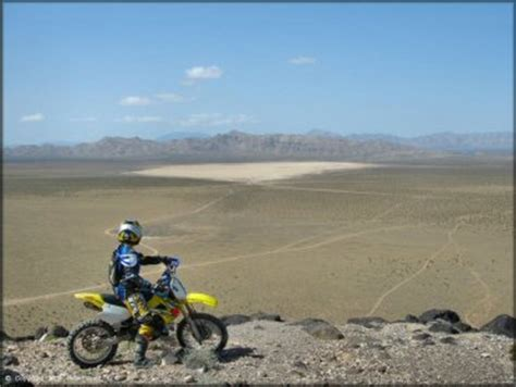 jean roach dry lake bed nevada motorcycle and atv trails