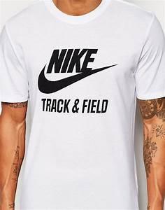 Nike | Nike Track and Field Logo T-Shirt at ASOS