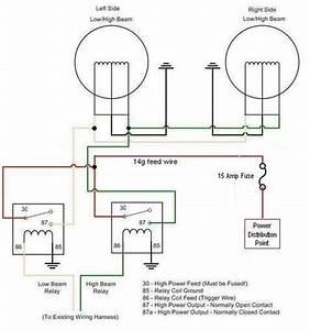 Headlights Wiring Diagram