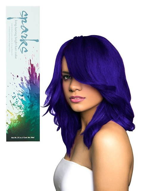 Sparks Electric Blue Hair Dye