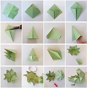 Origami Boule De Noel : kersthangers vouwen origami kerstballen voor in de boom moodkids ~ Farleysfitness.com Idées de Décoration