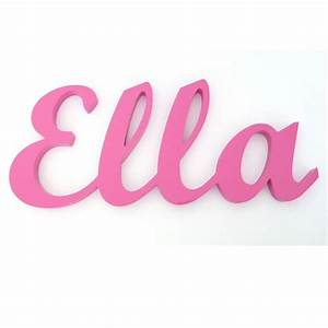 Kids wooden name word custom made for Kids name letters