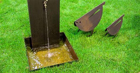 il giardino di corten vasca per fontana il giardino di corten