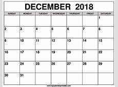 December 2018 Calendar FREE DOWNLOAD Elsevier Social