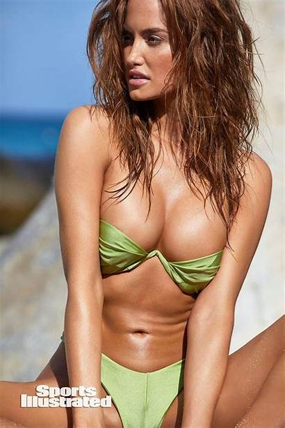 Illustrated Swimsuit Haley Kalil Sports Issue Swim