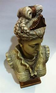 Antique, Female, Bust