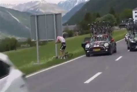 dumolin toilet should they have waited tom dumoulin takes badly timed