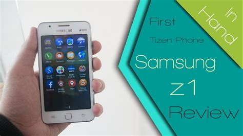 samsung  sm zh tizen os phone impressions hands