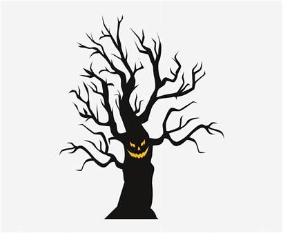 Tree Scary Spooky Halloween Clip Nicepng