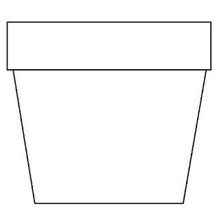 Coloring Page Flower Pot by Flower Pot Coloring Page Flower Coloring Page