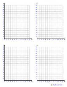 coordinate grids printable graph paper printable math graph paper