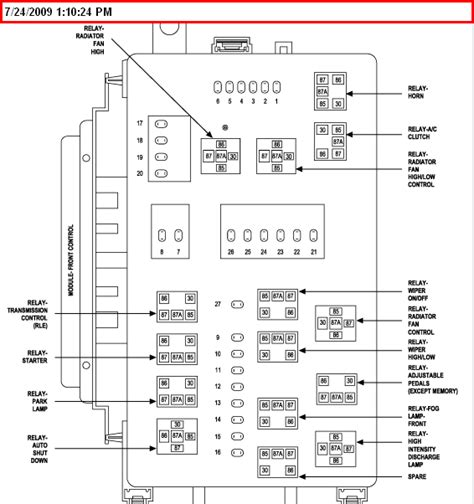 2005 Chrysler Sebring Fuse Box Layout by Why Taillights On 2005 Chrysler 300 Wont Burn When Other