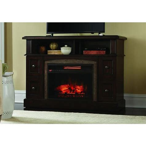 cherry media electric fireplace home decorators collection bellevue park 48 in media