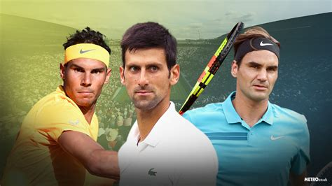 The numbers behind Federer, Nadal and Djokovic's battle to ...