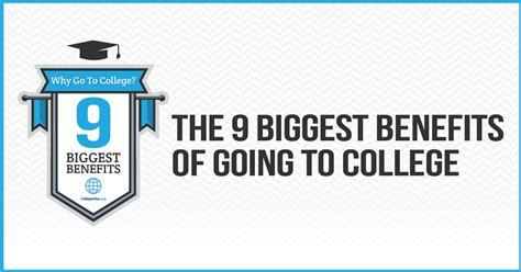 college   biggest benefits