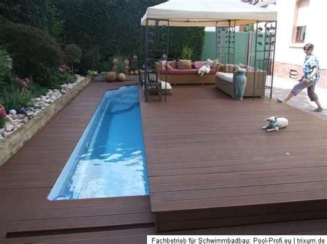 einbaupool komplett set gfk pool komplett mit einbau mein schwimmbecken