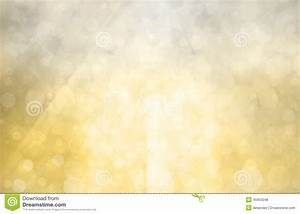 Silver Gold Background With Bright Sunshine On Bokeh ...