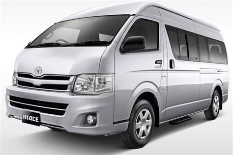 Hire 9 Seater Toyota Hiace Van For Short, Long And Weekend