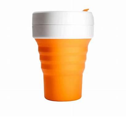 Stojo Cup Cups Reusable Starbucks Straws Collapsible