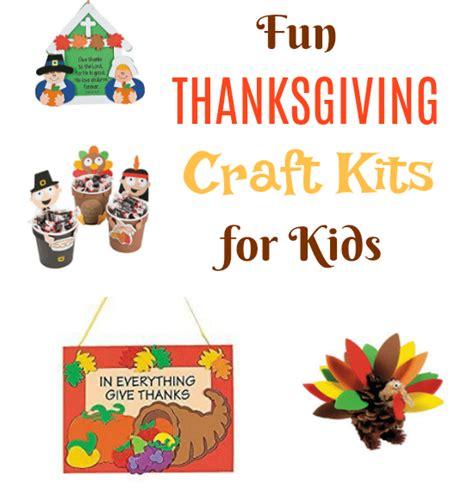 Fun Thanksgiving Craft Kits For Kids  Jinxy Kids