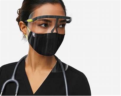 Figs Face Scrubs Def Shield Medical Uniforms