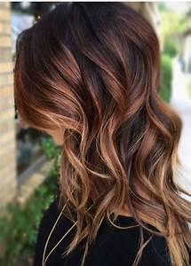 Braune Haare Mit Highlights : trendige frisuren m derne haarfarben und haarschnitte ~ Frokenaadalensverden.com Haus und Dekorationen