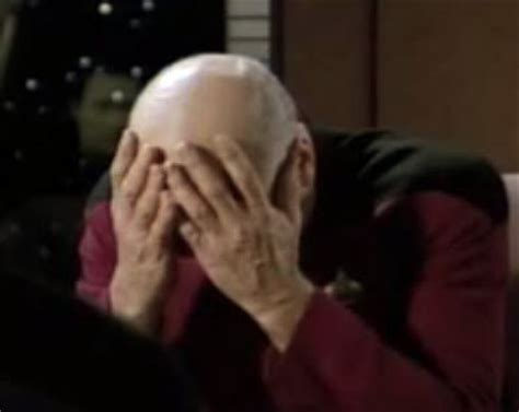 Captain Picard Facepalm Meme - i wonder how rei s sweat tastes like evageeks org forum an evangelion fan community