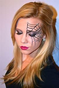 Gruselige Hexe Schminken : image result for spider web makeup make up pinterest halloween halloween makeup und ~ Frokenaadalensverden.com Haus und Dekorationen