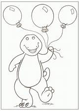 Barney Coloring Pages Printable Sheets Birthday Dinosaur Friends Colouring Christmas Balloons Cartoon Bestcoloringpagesforkids Prints Printables Barny Story Baloons Ethan Colors sketch template