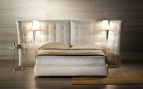 www flou it letti flou bed angle with side panels quilted headboard
