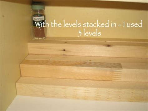 DIY tiered spice rack   The Savvy Organizer   this is